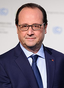François Hollande 2015.