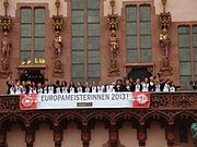 Frauen-Europameister 2013 Römer4