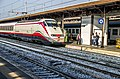 Frecciabianca- italian fast train in Trento station - panoramio.jpg