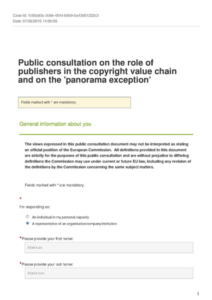 File:Freedom of Panorama Consultation European Commission.pdf