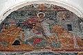 Fresco of Saint George in Alaverdi Monastery, Kakheti (July 2006).jpg