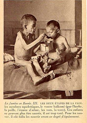 Image illustrative de l'article Famine soviétique de 1921-1922