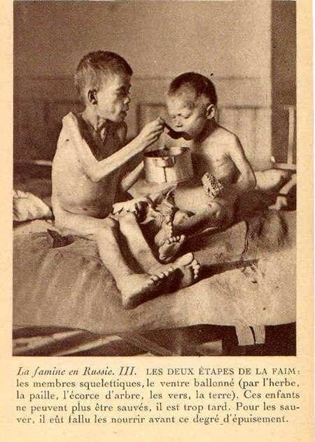 Fridtjof Nansen, Les deux %C3%A9tapes de la faim (1922)
