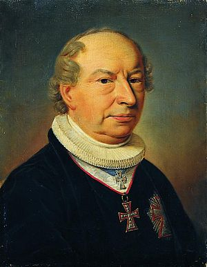 Friedrich Münter - Friedrich Münter. Portrait by Christian Albrecht Jensen, after Christian Horneman