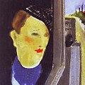 Friedl Dicker–Brandeisová - Dáma v automobilu (cca 1940).jpg