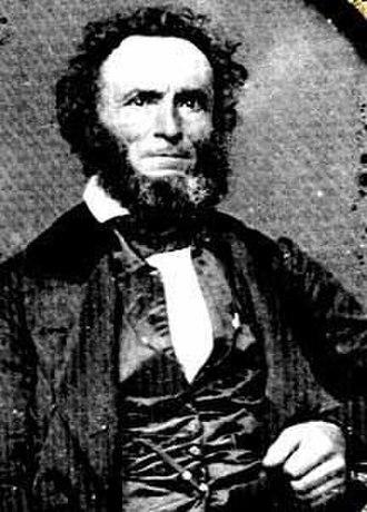 Dreissiger - Friedrich Münch (1799-1881), a leading organizer of the Dreissiger