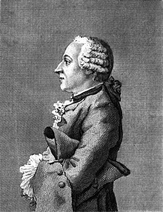 Friedrich Melchior, Baron von Grimm - Friedrich Melchior Baron von Grimm (1769), engraved by John Swaine