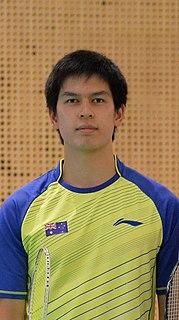 Matthew Chau Badminton player