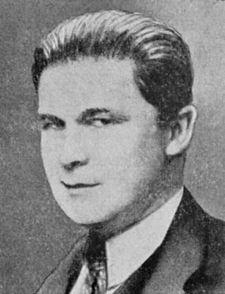 Fritz Lehmann na tablu vyučujících na Německé technické vysoké škole v Praze v roce 1931