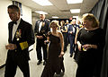 From left foreground, Vice Chairman of the Joint Chiefs of Staff U.S. Navy Adm. James A. Winnefeld; Chief of Staff of the Army Gen. Raymond Odierno; Deanie Dempsey; and Mary Winnfeld head toward the ballroom 130121-A-TT930-028.jpg