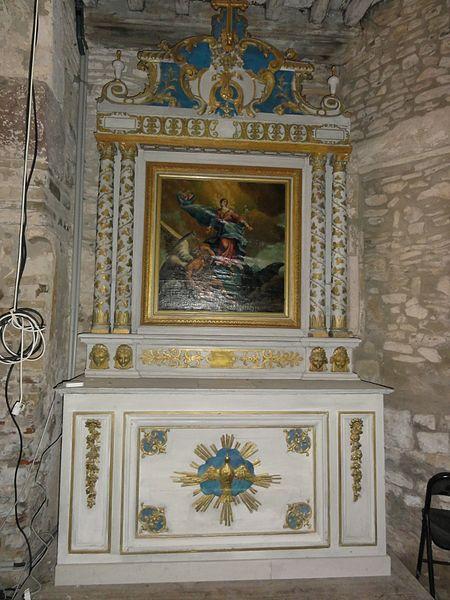 Froville (M-et-M) Prieuré, église, autel B