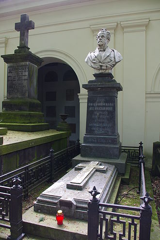 Maria Kalergis - The tomb of Maria Kalergis along with her father Count von Nesselrode, in the Powązki Cemetery.