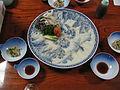 Fugu dish served.jpg