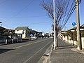 Fukuoka Prefectural Road No.566 near Susenji Station.jpg
