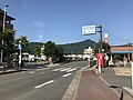 Fukuoka Prefectural Road No.91 in front of Sue Town Office.jpg