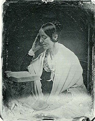 Margaret Fuller - The only known daguerreotype of Margaret Fuller (by John Plumbe, 1846)