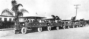 Fullerton Union High School - Fullerton Union High School buses, 1921
