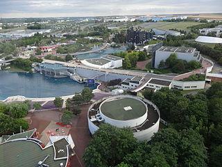 Futuroscope French amusement parc
