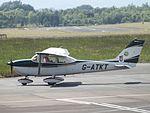 G-ATKT Cessna Skyhawk 172 (27310650825).jpg