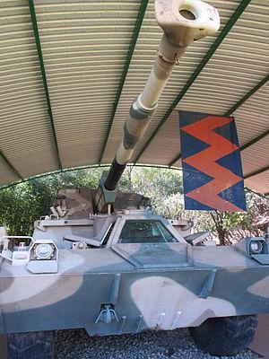 G6 howitzer - Image: G6 Howitzer 6