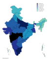 GDP of Indian states 2011.png