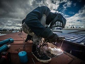 Shielded metal arc welding - Shielded metal arc welding