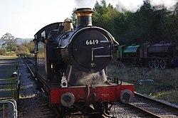 GWR 6619 Steam Engine (6648848971).jpg