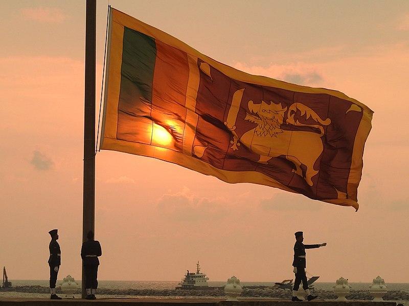 File:Galle Face Flag - Sri Lanka - March 2017.jpg