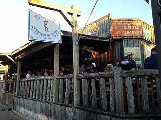 Dixie Chicken (bar) - Dixie Chicken back porch