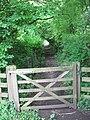 Gate on footpath - geograph.org.uk - 1363306.jpg