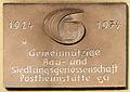 Gedenktafel Jaczostr 2 (Spand) Siedlungsgenossenschaft Postheimstätte.jpg