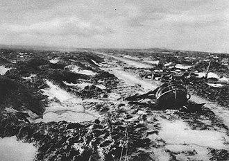 Night action of 1/2 December 1917 - Image: Gelände bei Passchendale