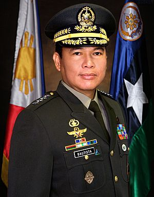 Emmanuel T. Bautista - General Emmanuel T. Bautista AFP