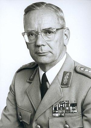 Ulrich de Maizière - de Maizière in 1969