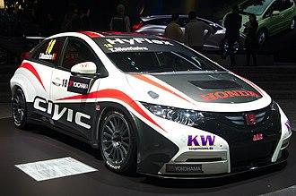 JAS Motorsport - Image: Geneva Motor Show 2013 Honda Civic WTCC