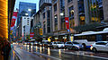 George Street congestion during evening peak hour 2013.jpg