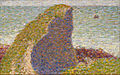 Georges Seurat - Study for Le Bec du Hoc, Grandcamp - Google Art Project.jpg