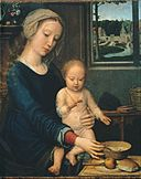 Gerard David - Madonna and Child with the Milk Soup - Google Art Project.jpg