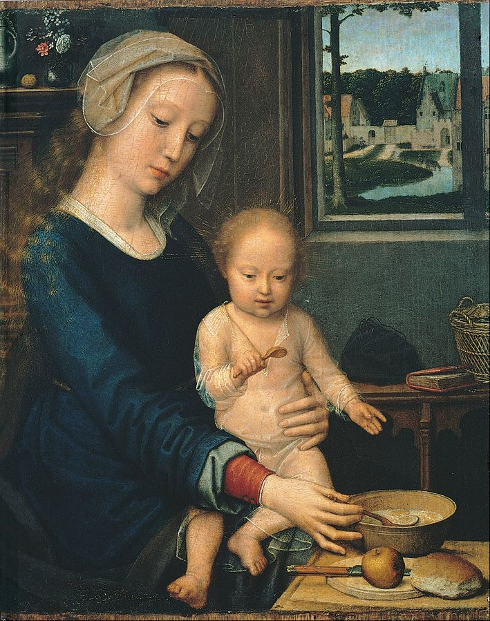 Madonna and Child with the Milk Soup