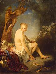 Woman Bather