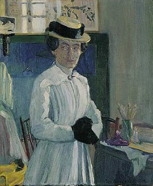 Ida Gerhardi - Self-portrait (1904)