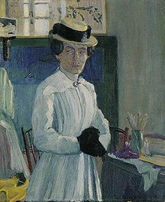 Ida Gerhardi - Self-portrait (1904)