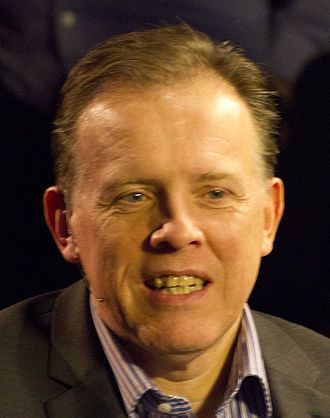 Neal Foulds - Foulds as commentator at the 2015 German Masters