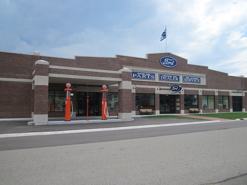 Ford Car Dealership Stockport