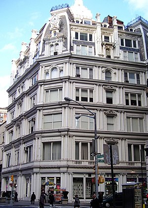 Gilsey House - a view from down Broadway (2010)