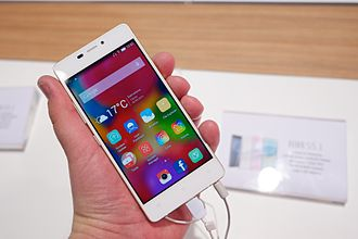 Gionee - Gionee Elife S5.1 at Mobile World Congress 2015 Barcelona