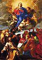 Giovanni Batista Gaulli - Ascensão de Nsa Senhora 01.jpg