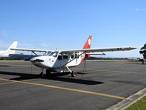 Latrobe Regional Airport - Image: Gipps Aero GA8 Airvan at Latrobe Regional Airport