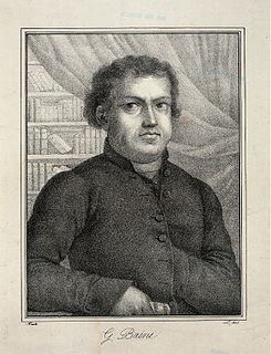 Abbate Giuseppe Baini Italian priest, music critic and composer