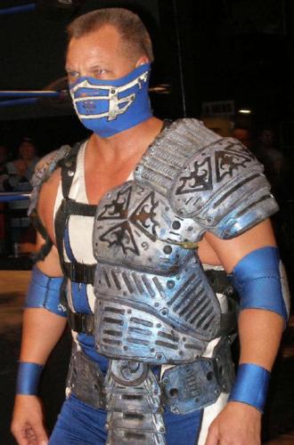 Glacier (wrestler) - Glacier in 2008.
